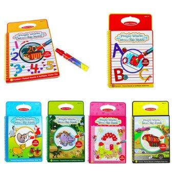 Harga Magic Kids Water Drawing Book With 1 Pen Intimate Coloring Painting