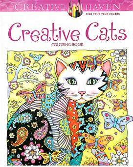 Harga Creative Haven Cats Colouring Book For Adults Antistress Coloring Secret Garden Series Adult