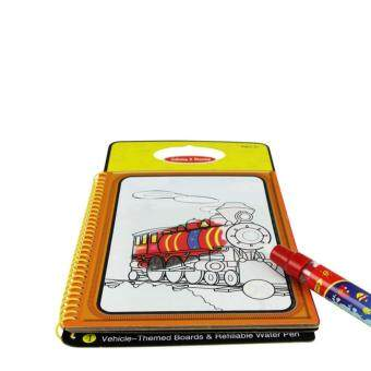 Harga Magic Water Drawing Book With 1 Pen Childrens Educational Coloring Kids Learing