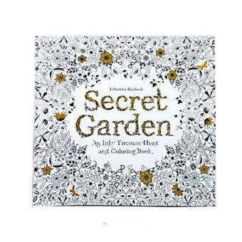 Harga Coloring Painting Book Secret Garden Kid Adult Anti Stress