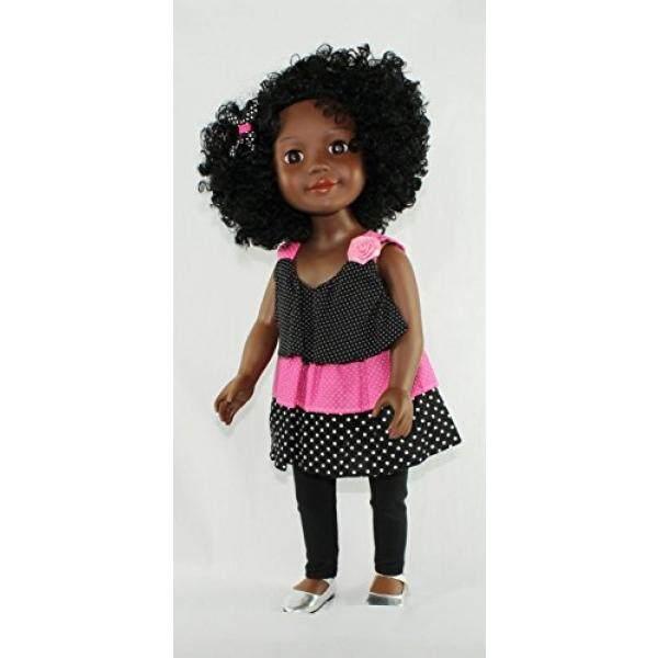 Kayla Sebuah Curly Perempuan United Doll-Internasional