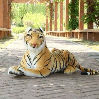 Large animal small tiger doll