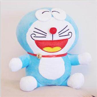Large DORAEMON doll machine cat New Year girls birthday Valentine'sDay gift jingle cats Children's Hair toys