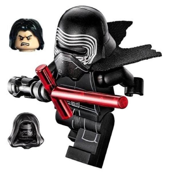 LEGO Star Wars Minifigure-Kylo Ren dengan Masker dan Rambut (75139)-Deluxe Set!-Intl