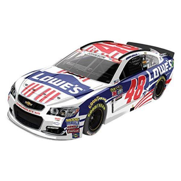 Lionel Racing C486821NSJJ Jimmie Johnson #48 Lowes Salutes 2016 Chevrolet SS ARC HOTO NASCAR Official Diecast Vehicle (1:24 Scale) - intl
