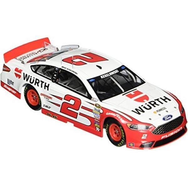 Lionel Racing CX26821WUBW Brad Keselowski #2 Wurth 2016 Ford Fusion ARC HOTO NASCAR Official Diecast Vehicle (1:24 Scale) - intl
