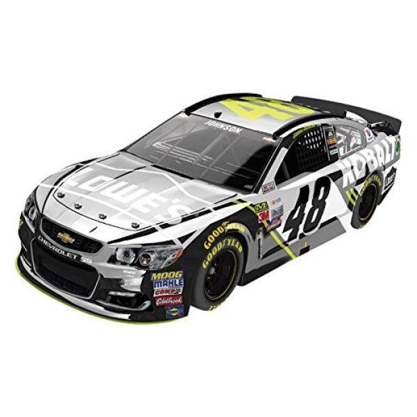 Lionel Racing Jimmie Johnson #48 Kobalt 2017 Chevrolet SS 1:24 Scale ARC Color Chrome HOTO Official Diecast of the NASCAR Cup Series - intl