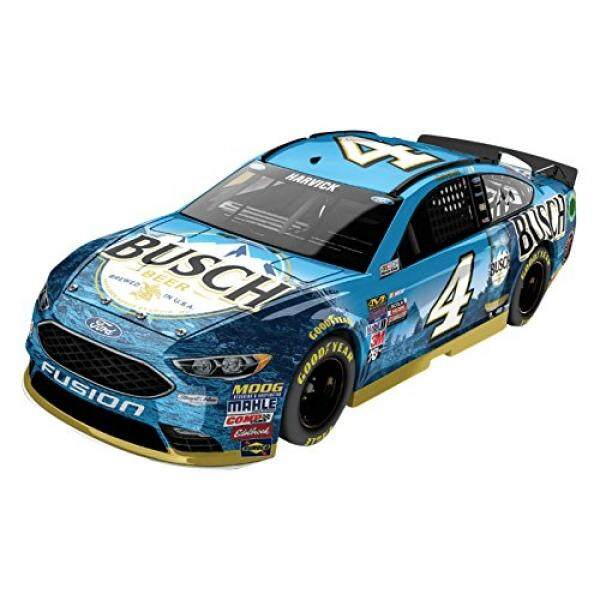 Lionel Racing Kevin Harvick # 4 Busch 2017 Ford Fusion 1:24 Scale ARC HOTO Official Diecast of the Monster Energy NASCAR Cup Series - intl