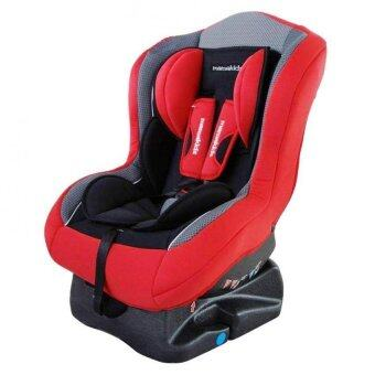 Mamakiddies Infant Convertible Suitable from New Born to 4 Years Car Seat - Red
