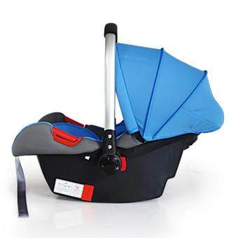 Mamakiddies New born Infant Baby Carrier Car Seat Rocker Blue