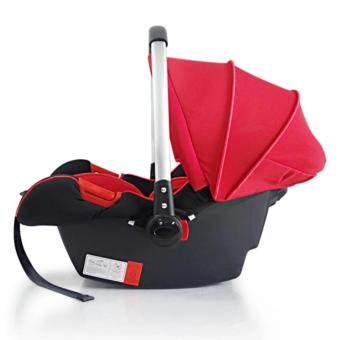 Mamakiddies New born Infant Baby Carrier Car Seat Rocker Red