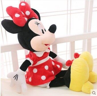 Mickey Mouse plush toy cloth doll