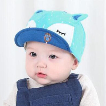 Newest Summer Newborn Baby Hat Kids Cap Infant Baby Hat for Boysand Girls-blue
