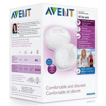Philips Avent Disposable Breast Pads (Day) - 60pcsv