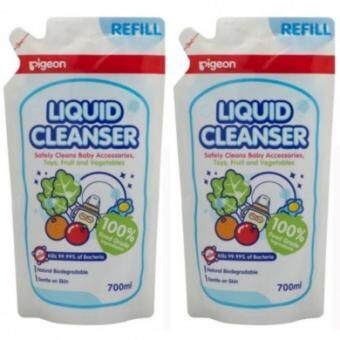 Pigeon Liquid Cleanser Refill Twin Pack (2 X 700ML) 12968
