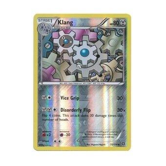 Pokémon Kartu Tunggal-Klang 72/114-PENGEPUNGAN UAP XY-Holo Balik-Intl