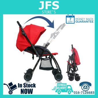 Premium Quality Reversible Function Baby Stroller For Infant Red