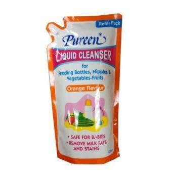 Pureen Liquid Cleanser 600ml Refill Pack (orange flavour)