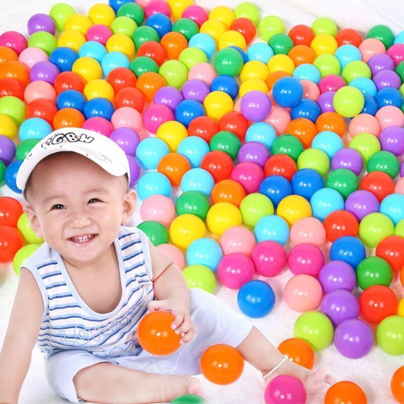 Plastic Toy Balls : Haenim play balls pcs cm lazada malaysia