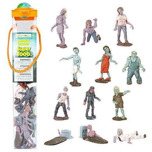 Safari Ltd. super Toob-ZOMBIE-Model Figurine Tangan Lukis Mainan Yang Handal-Konstruksi Mutu dari Phthalate, pimpinan dan BPA Bebas Materials-untuk Usia 3 dan Ke Atas-Internasional