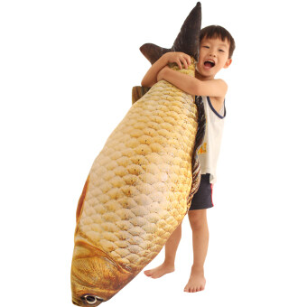 Simulation Large fish pillow plush toy cloth doll