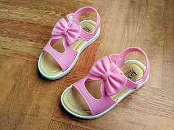 Small in children student sandals Korean-style princess shoes