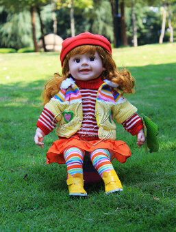 Smart cloth doll simulation doll