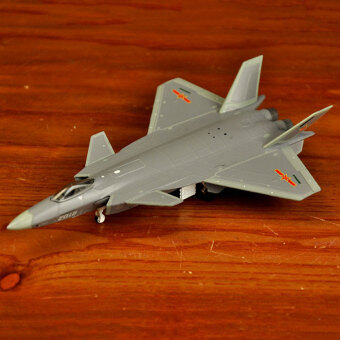 Straight military model airplane model