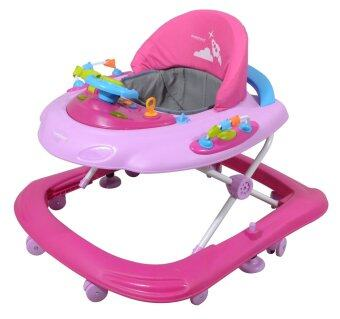 Sweet Heart Paris BW6988 Baby Walker (Pink)