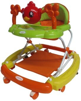 Sweet Heart Paris BW948 Baby Walker (Orange)