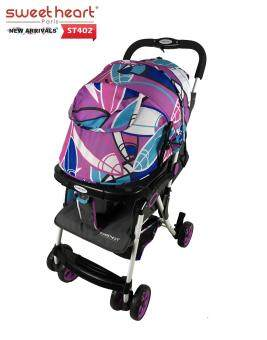 Sweet Heart Paris ST402 Iron Frame Stroller (Purple)
