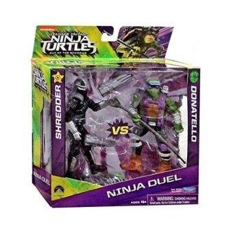 Teenage Mutant Ninja Turtles Out of the Shadows Ninja Duel Shredder vs Donatello 13cm Action Figure 2-Pack - intl