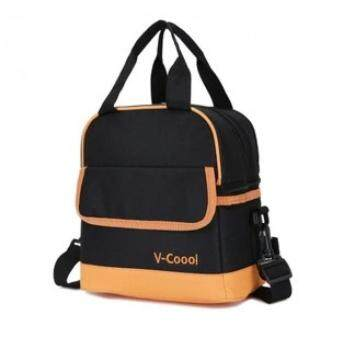 V-Coool Double Layer Cooler Bag (Black)