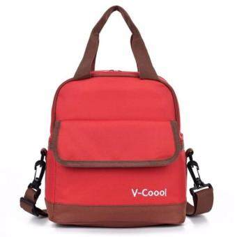 V-Coool Double Layer Cooler Bag (Red)