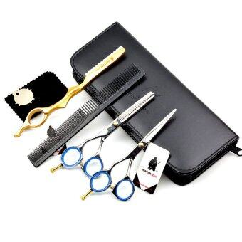 5 5 Inch Left Hand Hair Cutting Scissors Set For