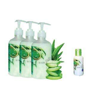 Aloe Cool Body Wash 3Bottle 500ml Free 1Bottle 100ml