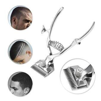 Barber Tools Hand Hair Clippers Manual Metal Portable TrimmerCutter Super Silence for Adult Baby and Pet
