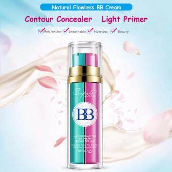 Bioaqua 2 In 1 Base Makeup BB Cream Primer Foundation Flawless Make Up - NATURAL