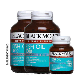 BLACKMORES Fish Oil 1000mg 2 x 120's + 30's 2x120s+30s