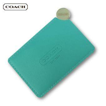 Coach Stainless Steel Mirror (Tiffany Blue)