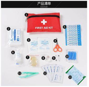 Emergency First Aid Kit Sport Car Travel Home Medical Bag Outdoor
