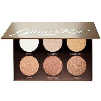 Glow kit Face Powder Blusher NAKE Makeup PALETTE Bronze Highlighter6COLORS with box