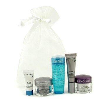 Lancome Travel Set: Hydrating Toner + Shaping Cream + Shaping Serum + Overnight Firming Cream + Eye Serum 5pcs