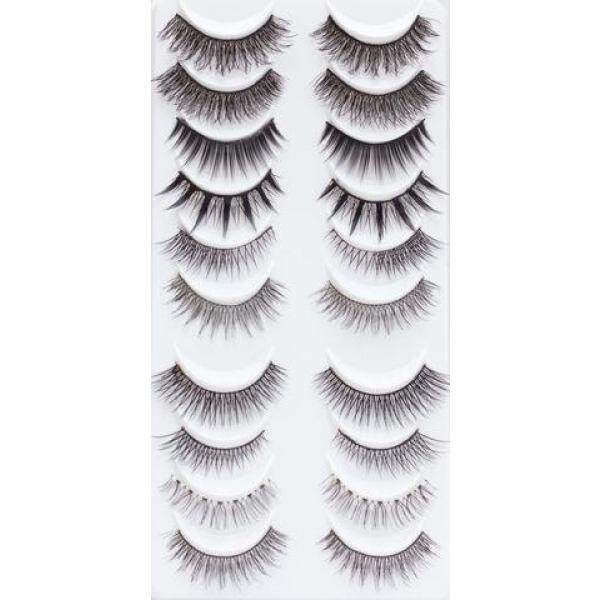 LashXO Lashes- Pro Lash Box - SIGNATURE Edition 10 PK styles Beautiful False Eyelashes Great Value, Reusable ,Cruelty- Free Lashes_Compare to Lashes in a Box - intl