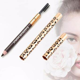LEOPARD EYEBROW PENCIL WITH BRUSH OEM MAC