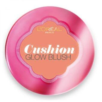 L'Oreal Paris Lucent Magique Cushion Glow Blush [#C1 SunkissedCoral]