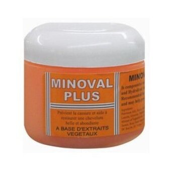 Minoval Plus Hair Regrowth Natural Vegetable Oil Pomade 120 Ml