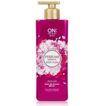 ON THE BODY Perfume Shower Body Wash - Classic Pink 500g