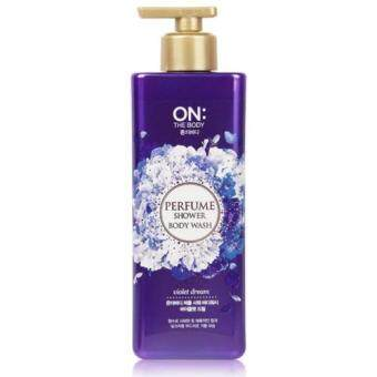 ON THE BODY Perfume Shower Body Wash - Violet Dream 500g