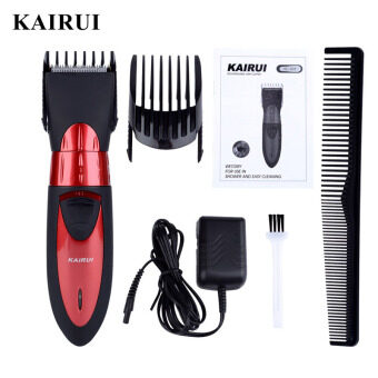 Professional Electric Hair Clipper Rechargeable Hair TrimmerStainless Steel Blade Hair Cutting Machine Adult Baby with 2 Combs